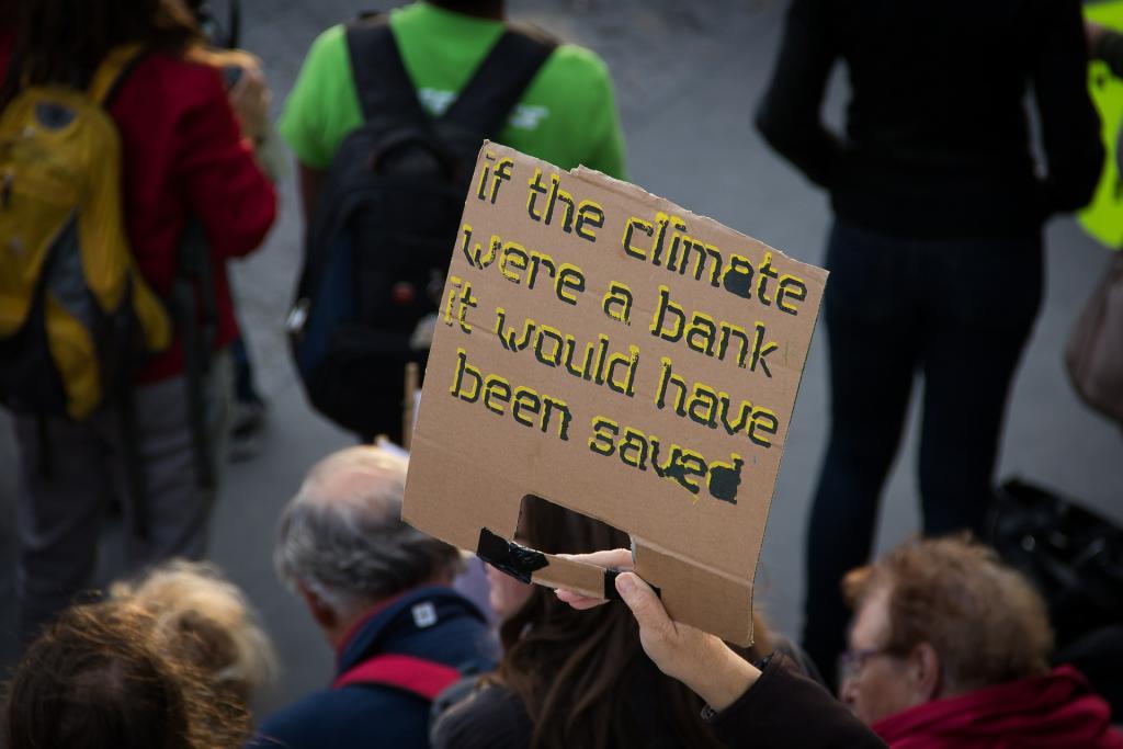 slogan klimaatmars